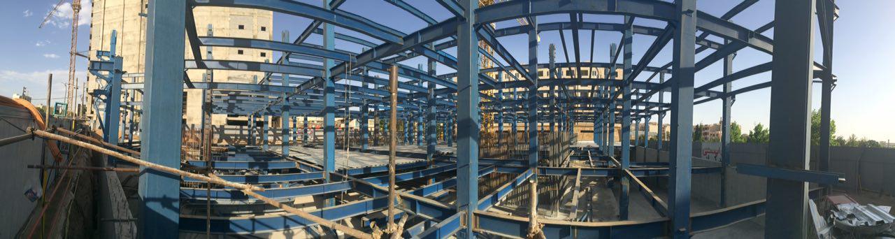 ساخت و نصب اسکلت فلزی جوشی تهرانپارس